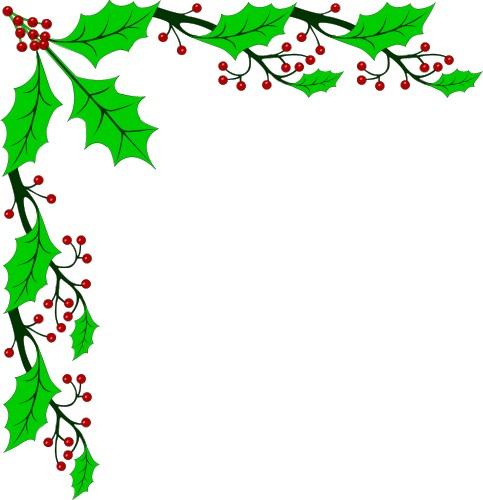 Christmas Border Corner Clipart Clipart Panda Free Clipart Images