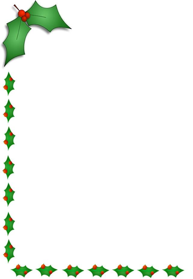 Christmas Border Left Side And Bottom-Christmas border left side and bottom-4