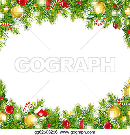 Christmas Border u0026middot; Christmas -Christmas Border u0026middot; Christmas Vintage Border-13