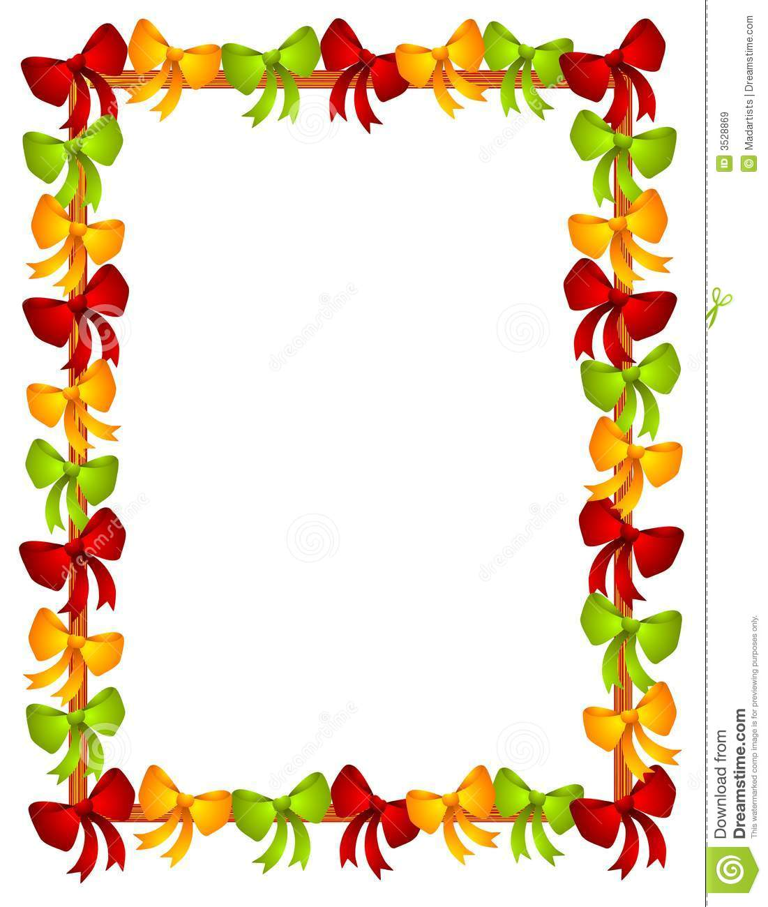 Christmas Borders And Frames  - Clipart Frames And Borders