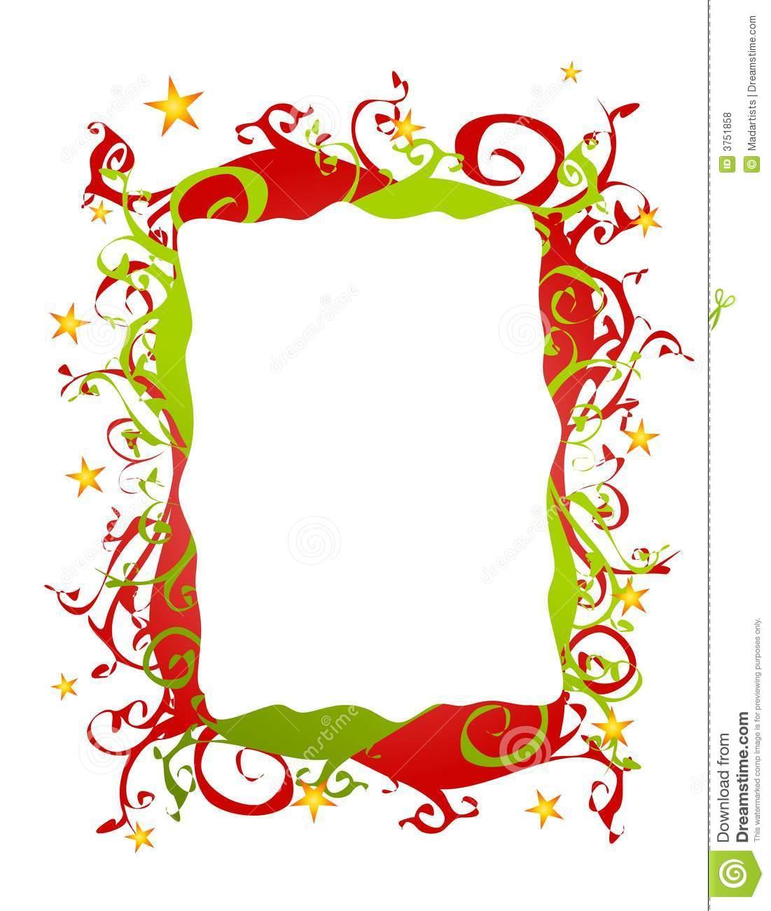 Christmas Borders Clip Art ..