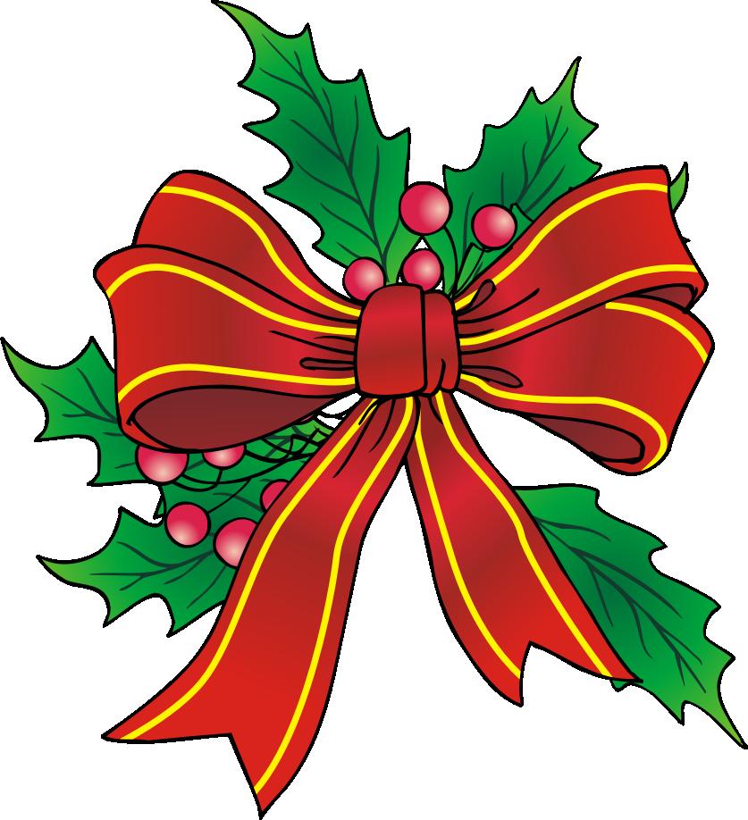 Christmas Bow Clip Art Cliparts Co-Christmas Bow Clip Art Cliparts Co-5