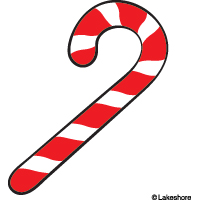 Christmas candy cane clip art free clipart images