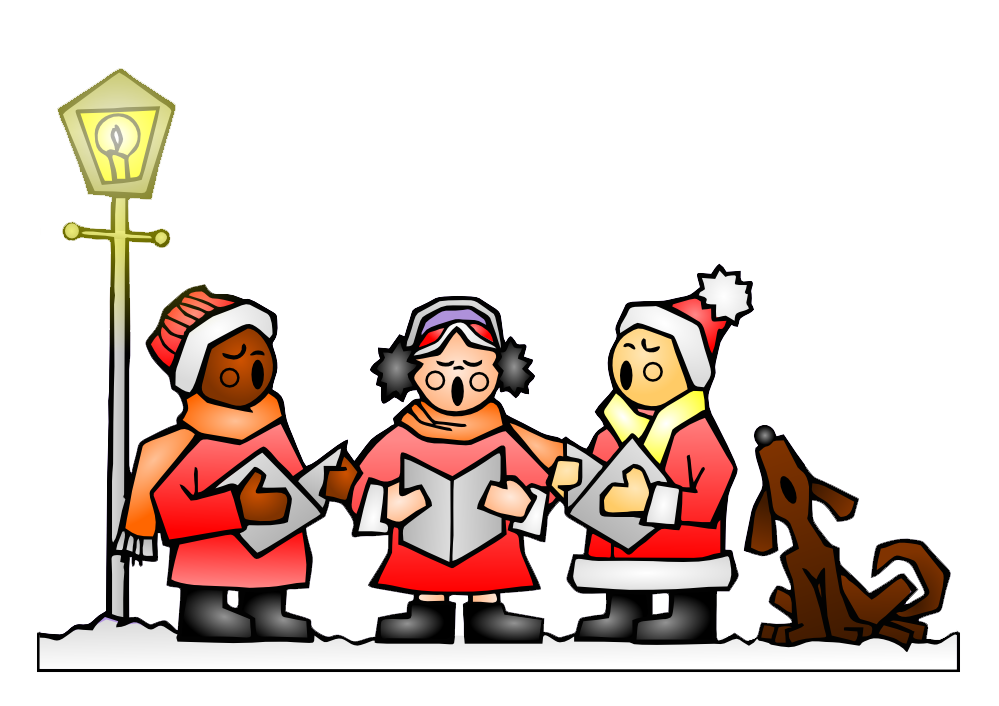 ... Christmas Carolers Clipart ...