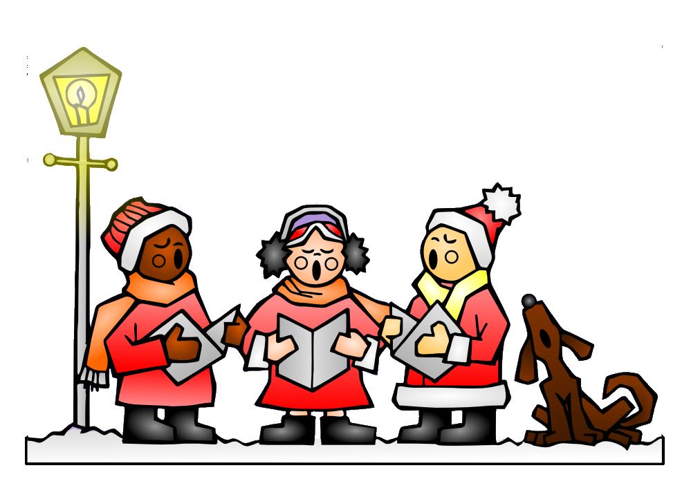 Christmas Caroling Clip Art-Christmas Caroling Clip Art-3