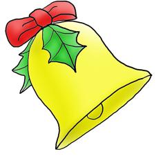 Christmas clip art bell free .