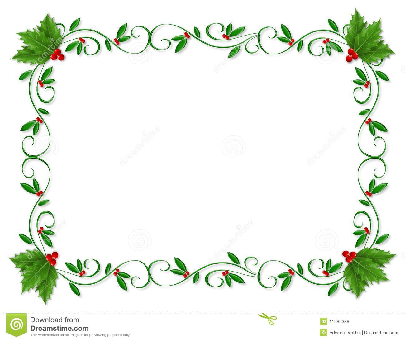 Christmas clip art borders .-Christmas clip art borders .-19
