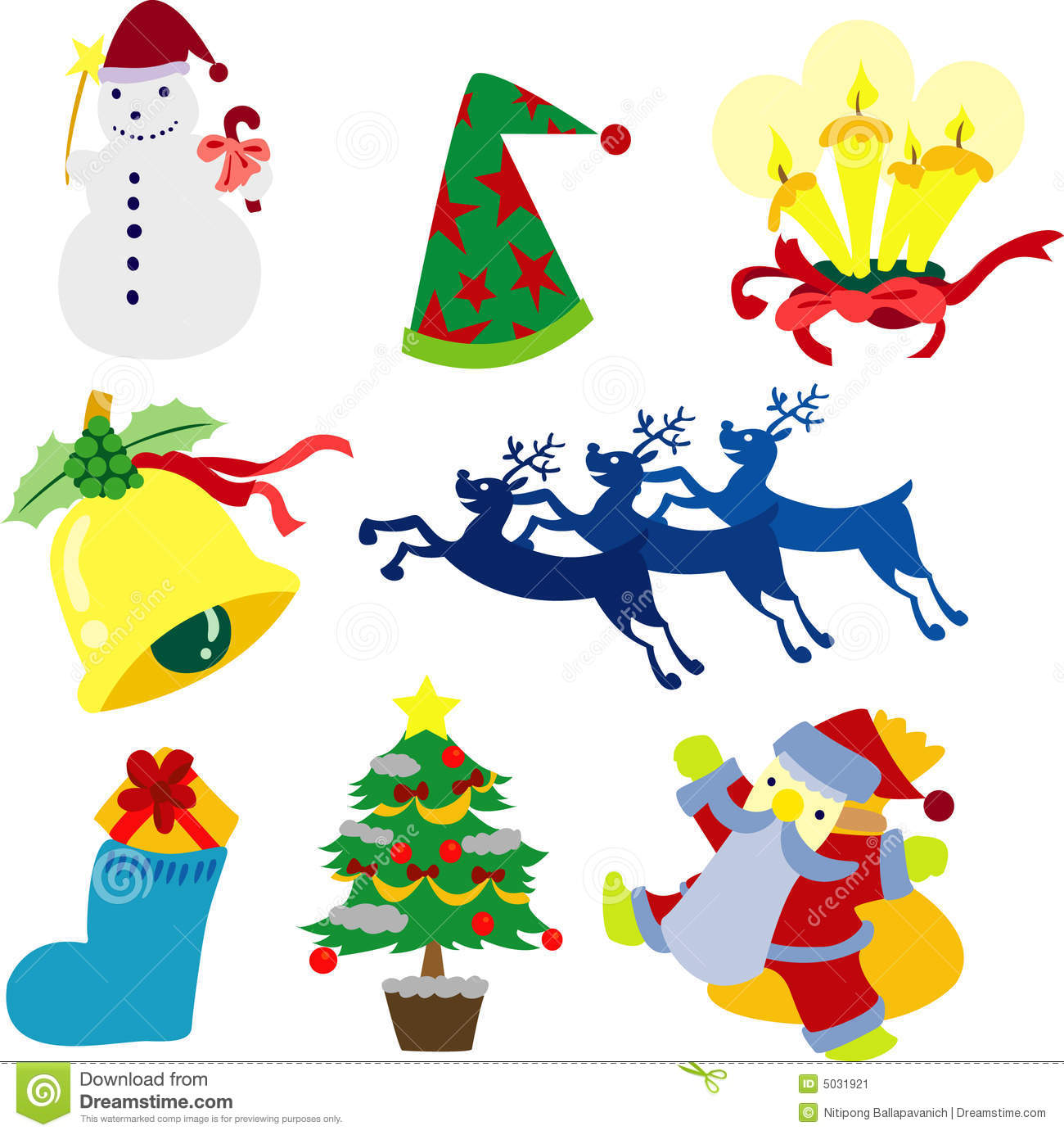 Christmas clip art collection - Clipart Collection