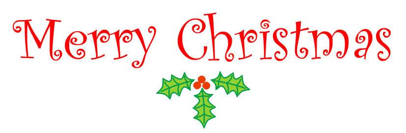 christmas clip art word words .-christmas clip art word words .-2