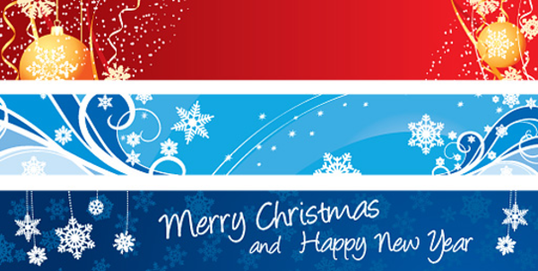 Christmas Clipart Banners .-christmas clipart banners .-8