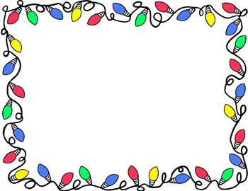 christmas clipart borders - Christmas Clipart Borders