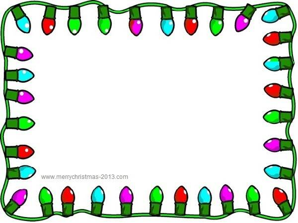 Christmas Clipart Borders Christmas Ligh-Christmas Clipart Borders Christmas Lights Clip Art Borders Free-17