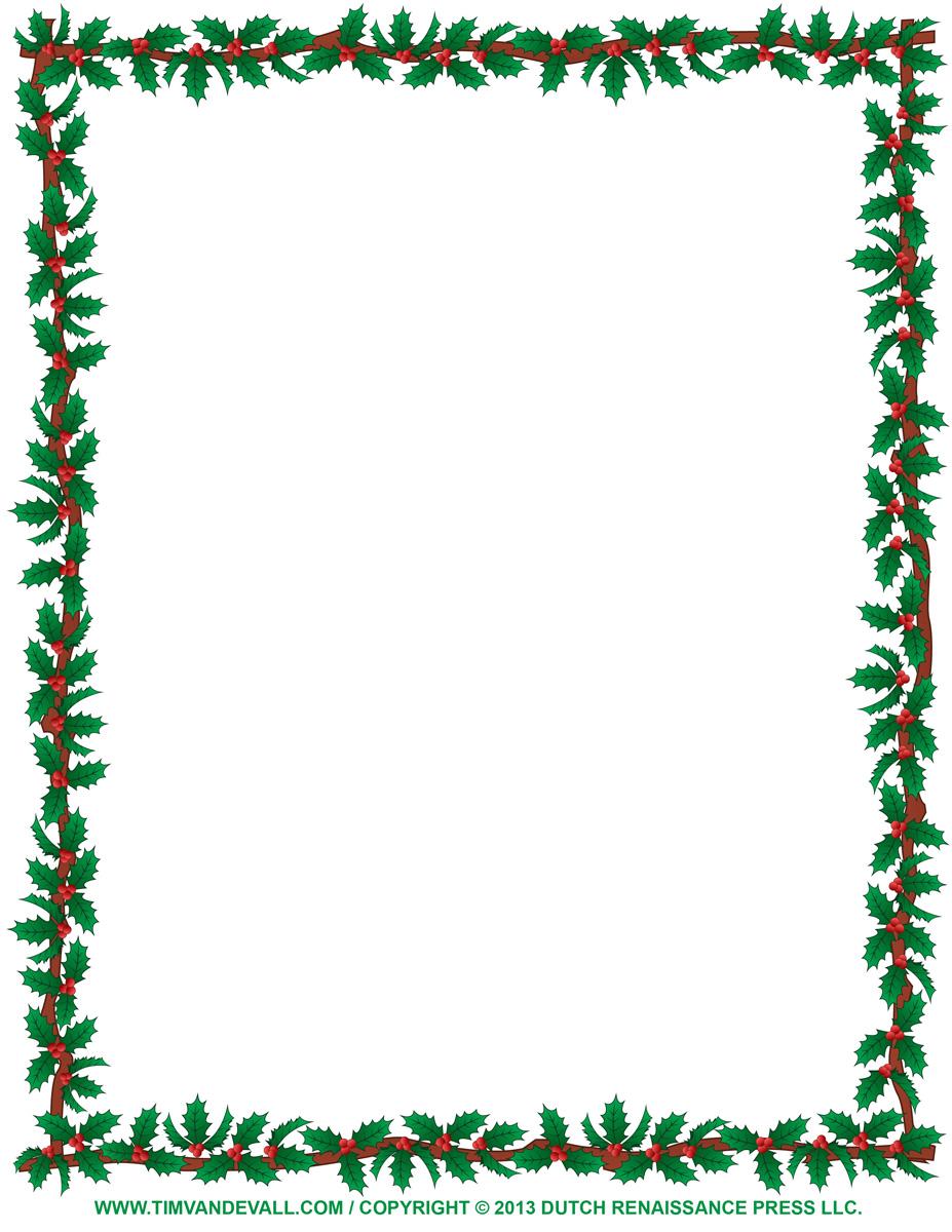 Christmas Clipart Borders-christmas clipart borders-8