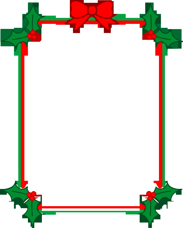Christmas Clipart Borders-christmas clipart borders-7
