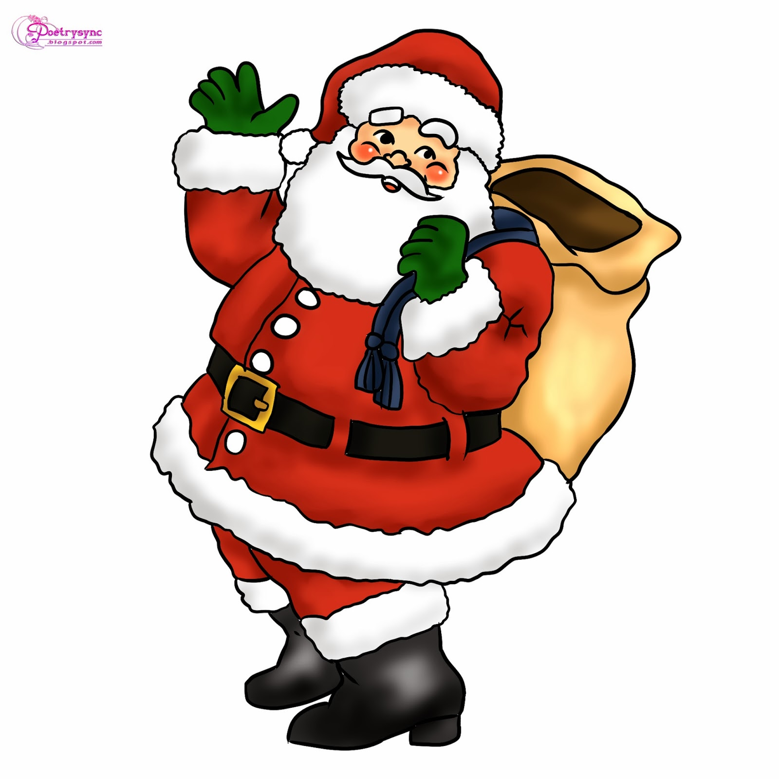 Christmas clipart kid 2