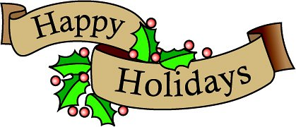 Holiday Clip Art Happy Holidays