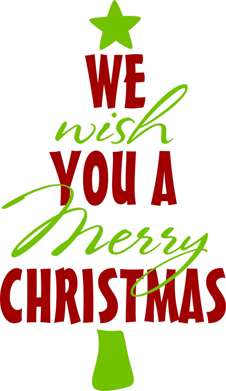 Christmas Clipart Merry Christmas. Wish You A Merry Christmas .
