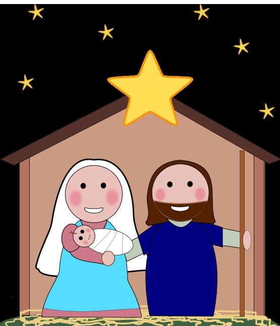 christmas clipart nativity .