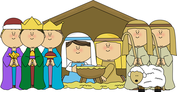 Christmas Clipart Nativity .