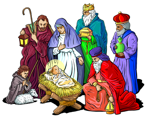 Christmas Clipart Nativity . Nativity Sc-Christmas Clipart Nativity . Nativity Scene. Nativity Scene. Free Religious Christmas .-2