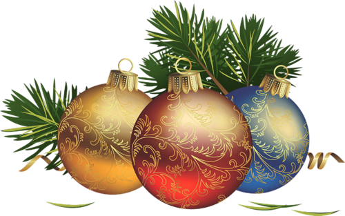 Christmas Clipart With . - Free Christmas Clip Art Transparent Background