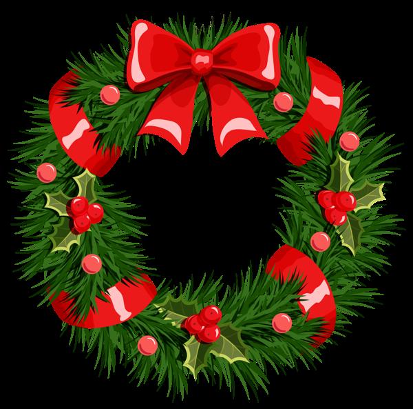 Christmas Clipart Wreath Free .-Christmas Clipart Wreath Free .-9