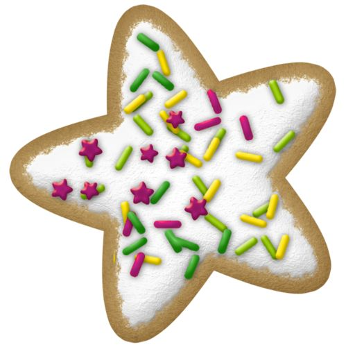 Christmas cookie clip art