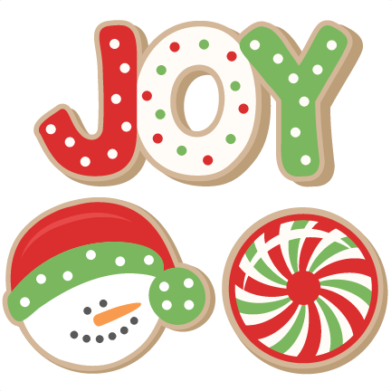 Christmas Cookie Set SVG .