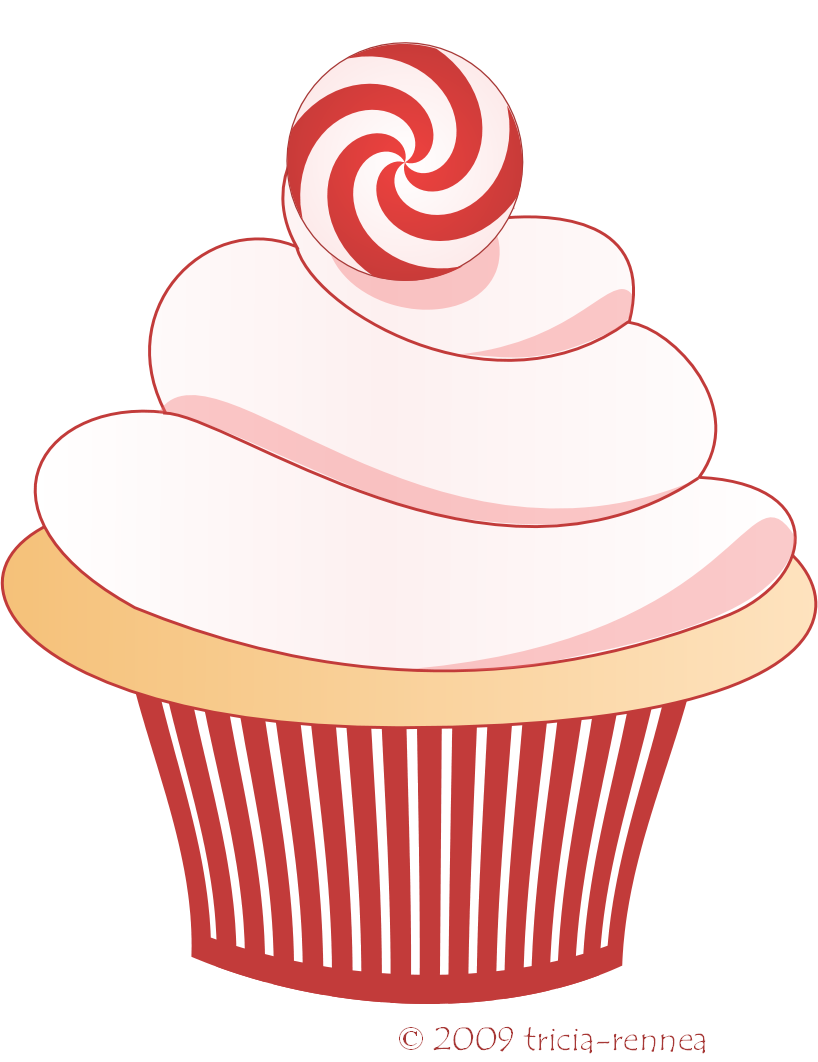 Christmas Cupcake Clip Art-Christmas Cupcake Clip Art-14