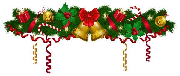 Christmas deco garland clip .