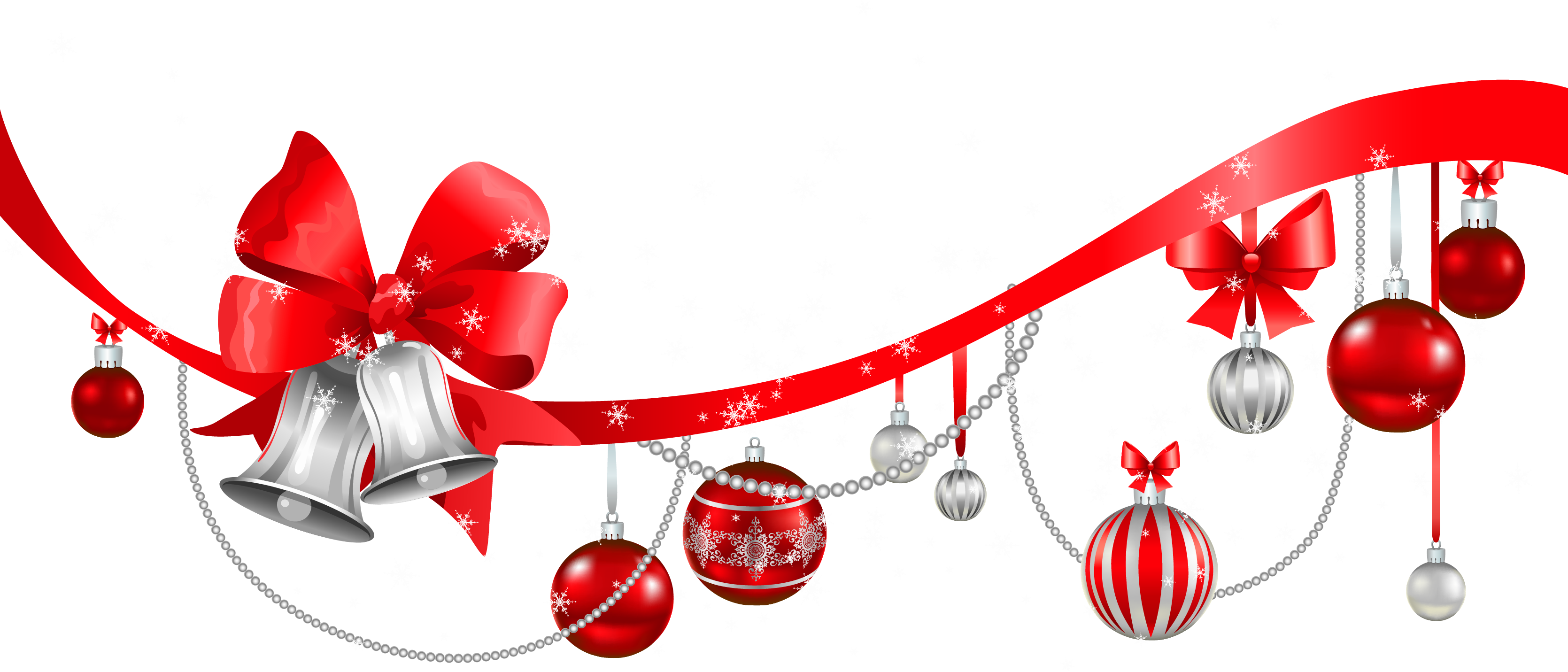 Christmas Decorations Clipart Borders (23)