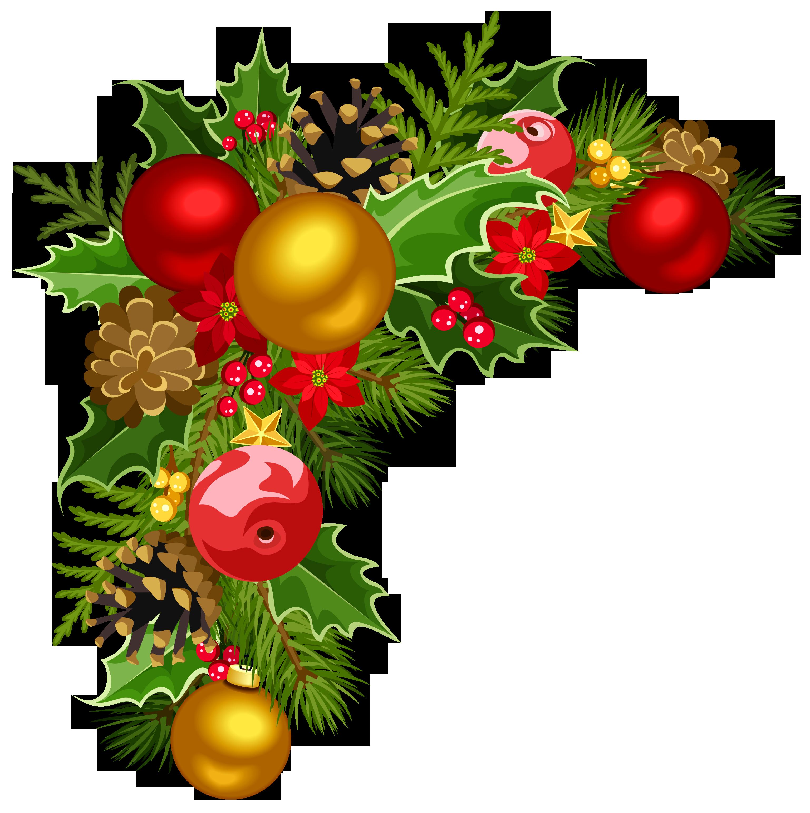 Christmas Decorations Clipart u2013 Happy Holidays!