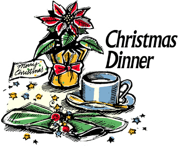 Christmas dinner clipart - ClipartFest