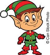 ... Christmas Elf - Happy Smiling Boy Ch-... Christmas Elf - Happy Smiling Boy Christmas Santau0026#39;s Elf-11