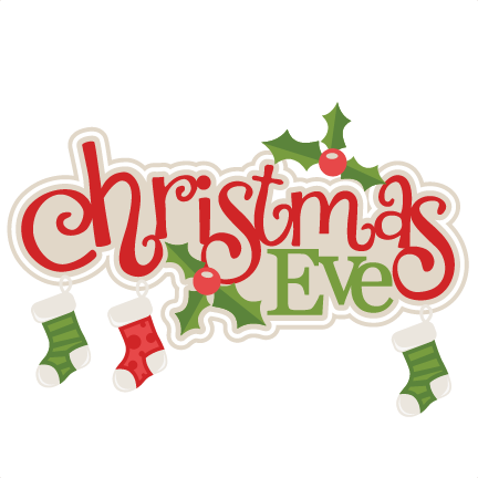 ... Christmas Eve Clip Art - clipartall ...