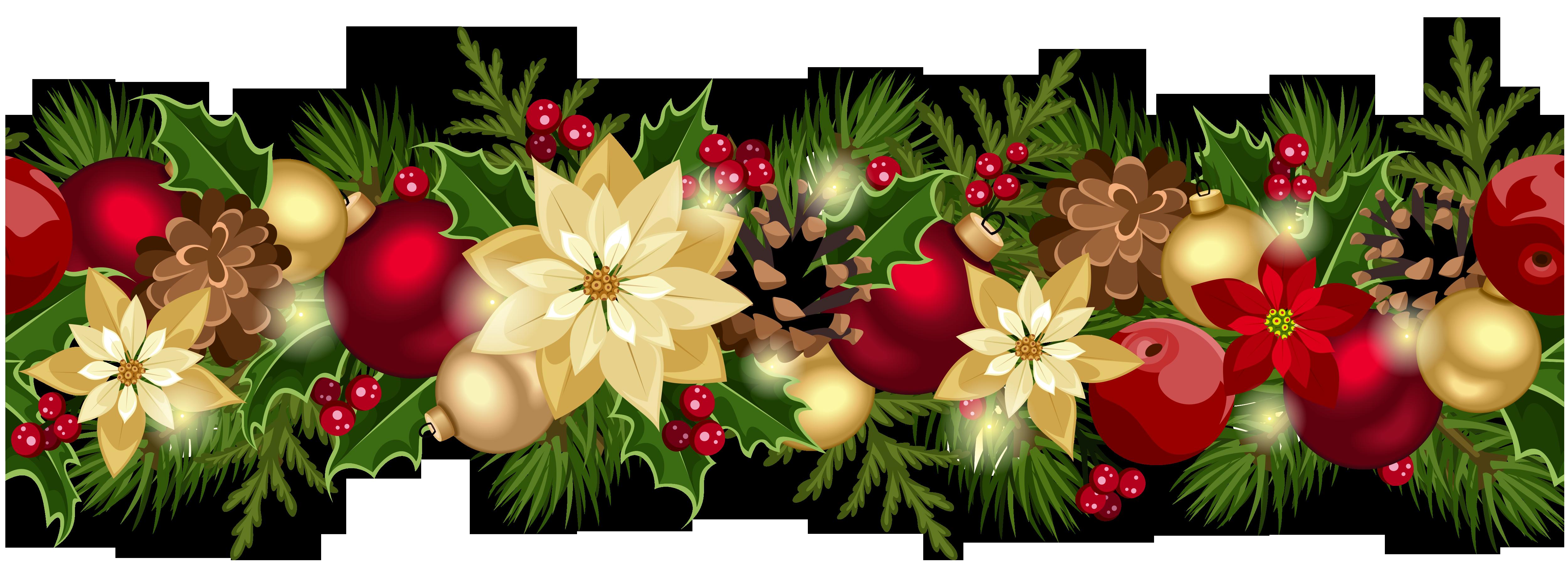 Christmas Garland Clip Art ..