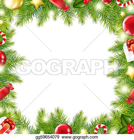 Christmas Gift Border U0026middot; Chris-Christmas Gift Border u0026middot; Christmas Tree Border-10