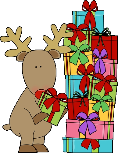 Christmas Gifts Presents Free Clipart