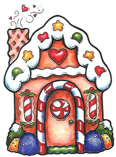 Christmas Gingerbread House Clip Art Free | Christmas clipart on Pinterest | Clip Art, Picasa and Navidad