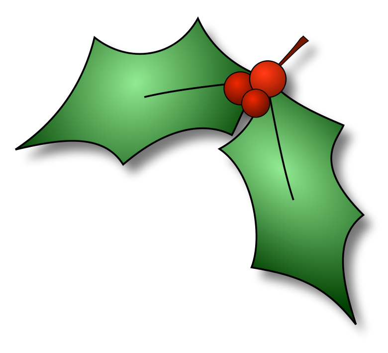 Christmas Holly Clip Art Borders Clipart-Christmas Holly Clip Art Borders Clipart Panda Free Clipart Images-8