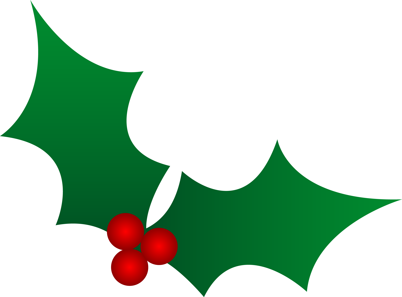 Christmas Holly Clipart-christmas holly clipart-8