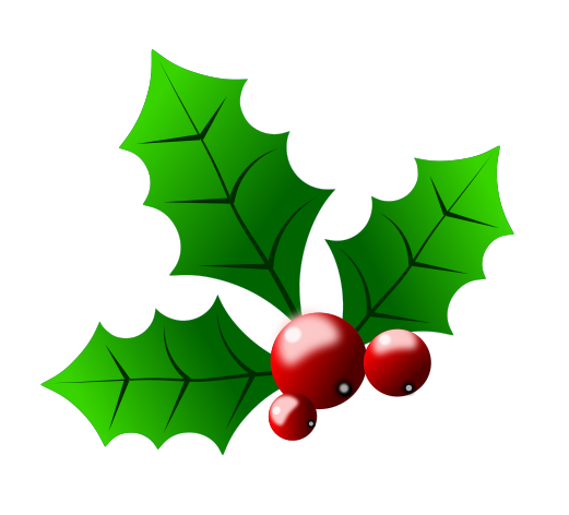 Christmas Holly Clipart-christmas holly clipart-2