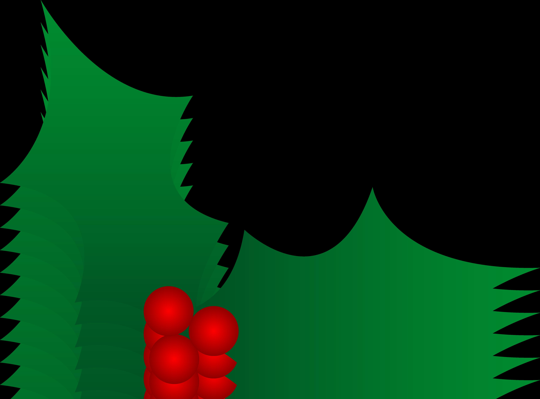 Christmas Holly Clipart-christmas holly clipart-4