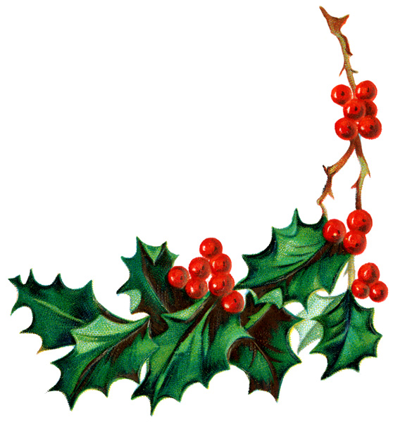 Christmas Holly Clipart-Christmas Holly Clipart-5