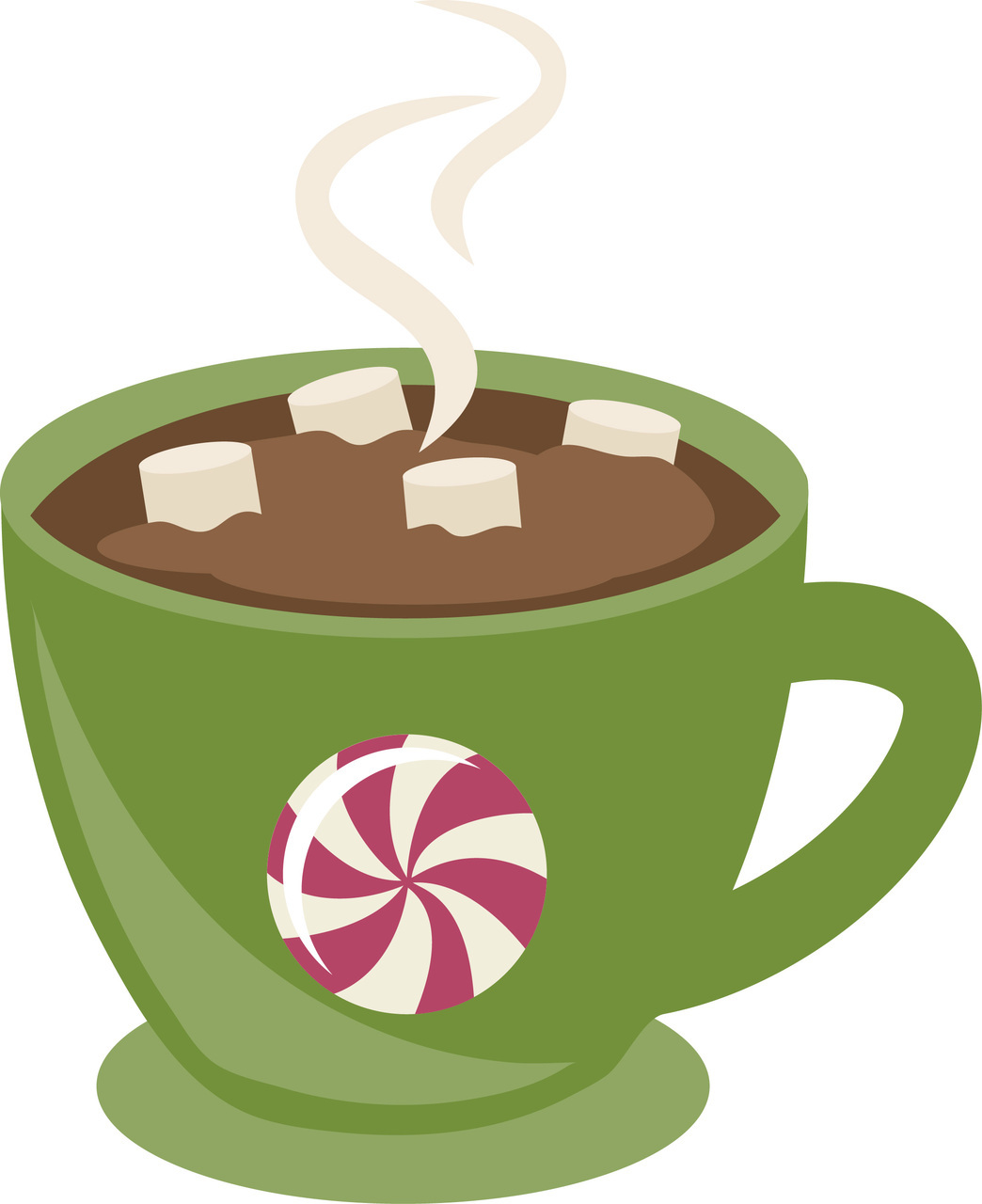 Red hot cocoa clipart hot cho