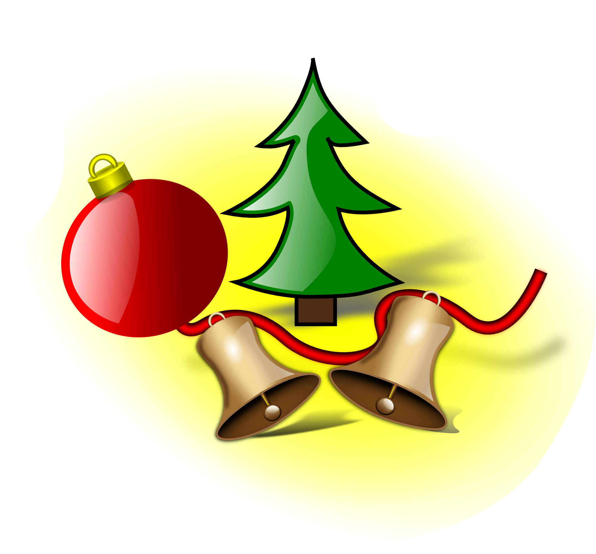 ... Christmas jingle bells clipart ...