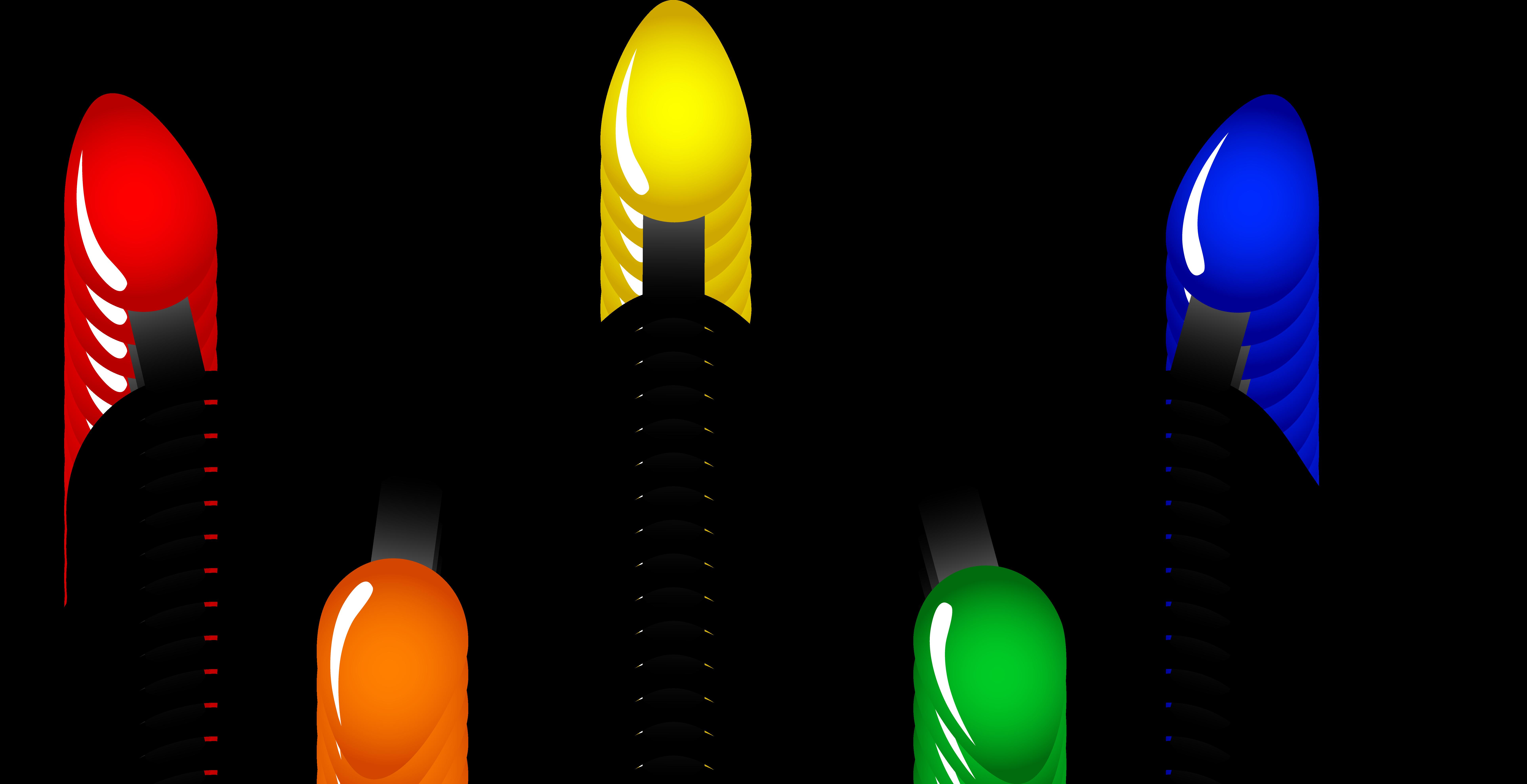 Christmas lights clipart free - Clipart Christmas Lights