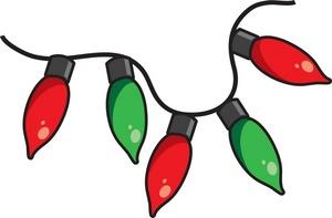 Christmas Lights Clipart Free .-Christmas lights clipart free .-7