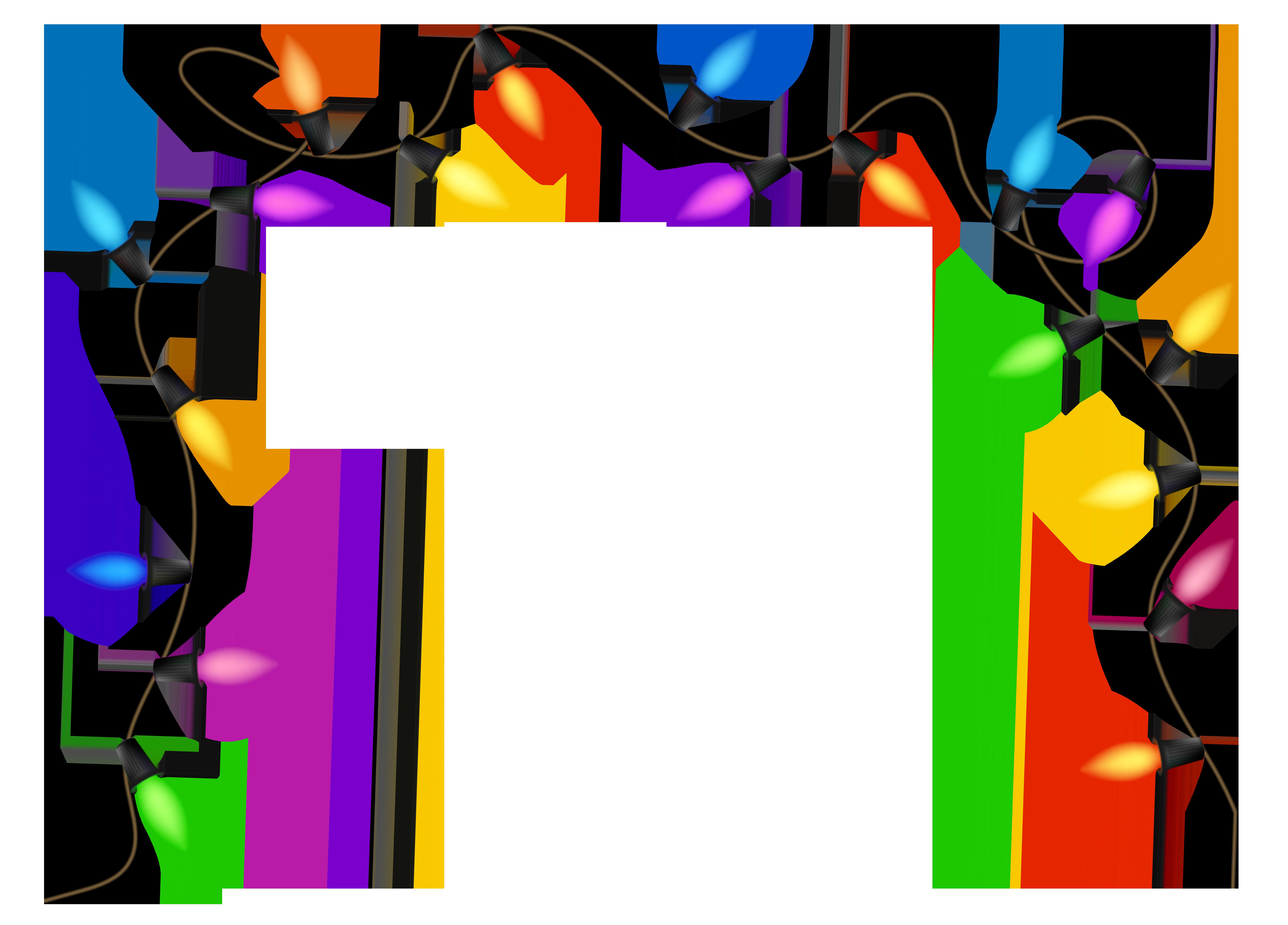 Christmas lights clipart transparent-Christmas lights clipart transparent-17