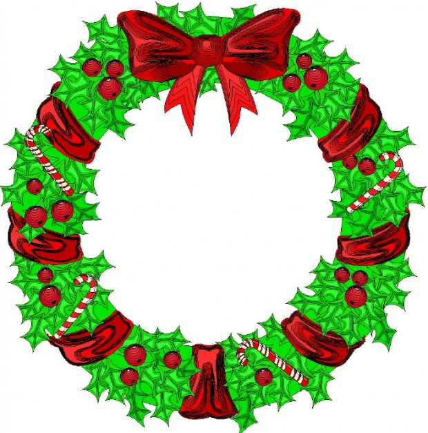 Christmas Menu Clip Art